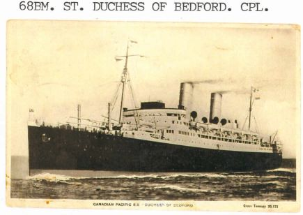 SS DUCHESS OF BEDFORD